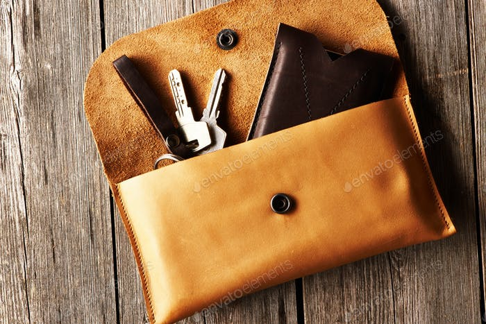 Handmade leather product
