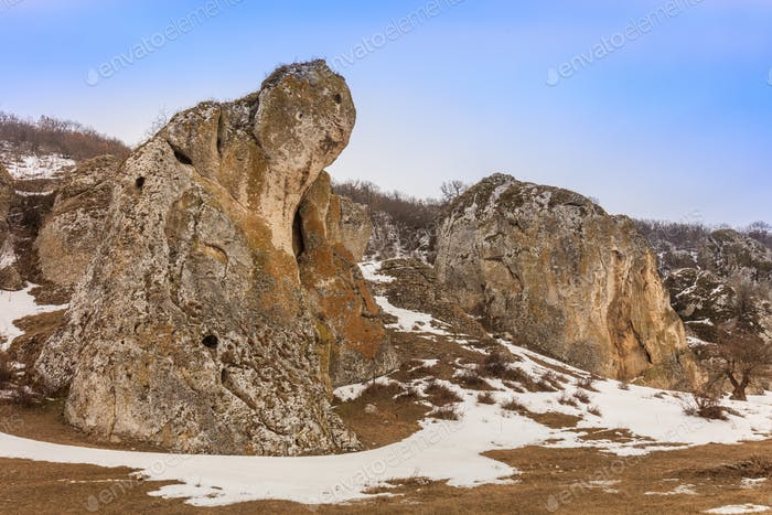 Dobrogea-Schluchten (Cheile Dobrogei) Rumänien