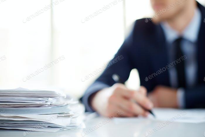 Montón de documentos