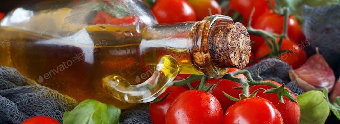 Ingredients for italian tomato sauce