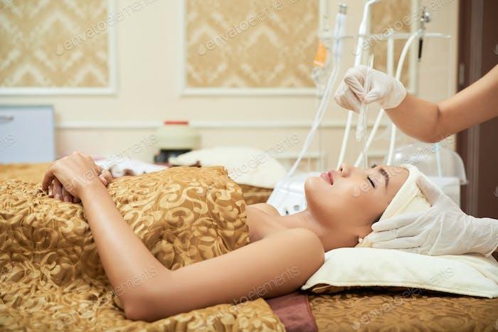 Professional rejuvenating procedure