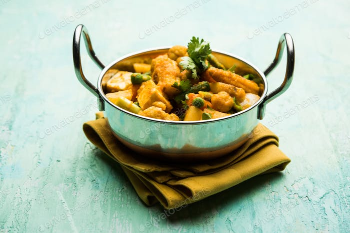 Mix vegetable Masala curry recipe