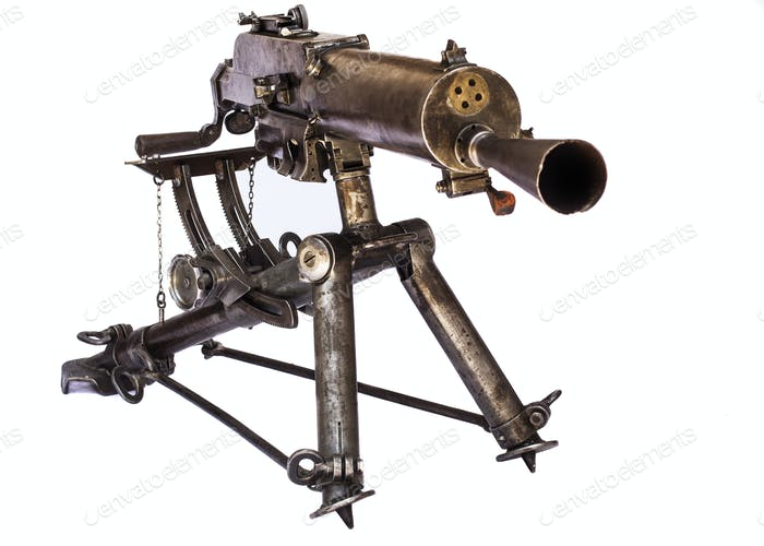 WWI Machine Gun