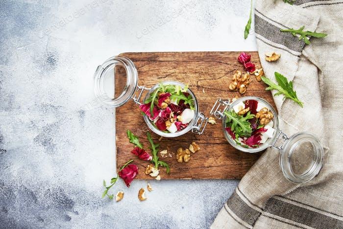 Rüben oder Rote-Bete-Salat