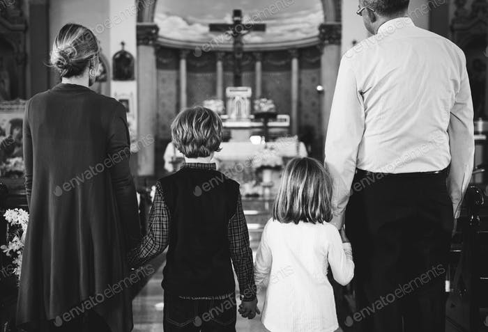 Thumbnail for Church People Believe Faith Religious Family