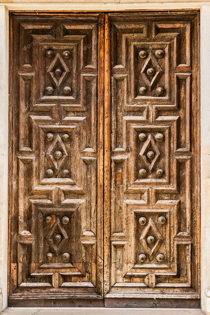 Elegant old portal