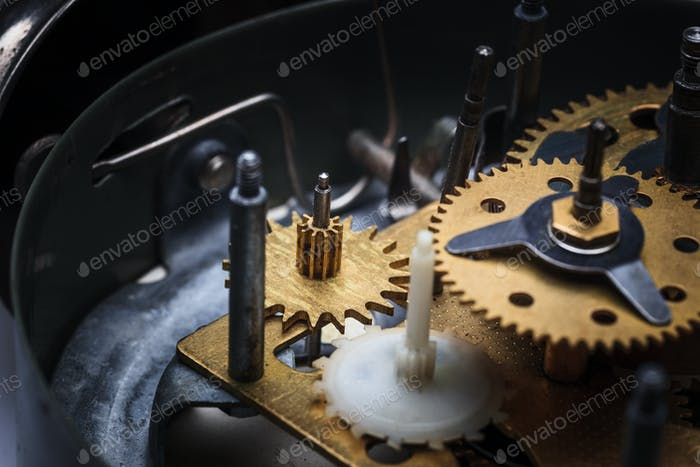 The macro view of clock mechanism