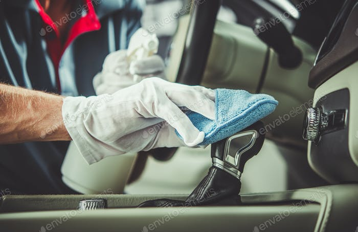 Detailing and Car Interior Cleaning Worker