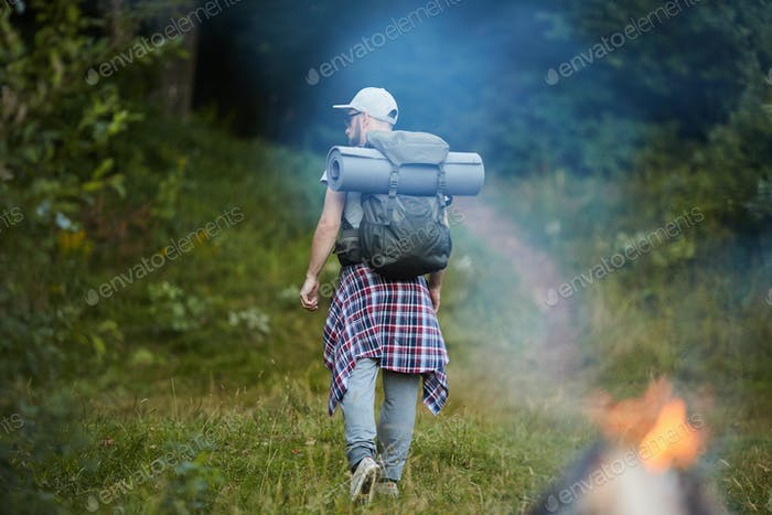 Active backpacker