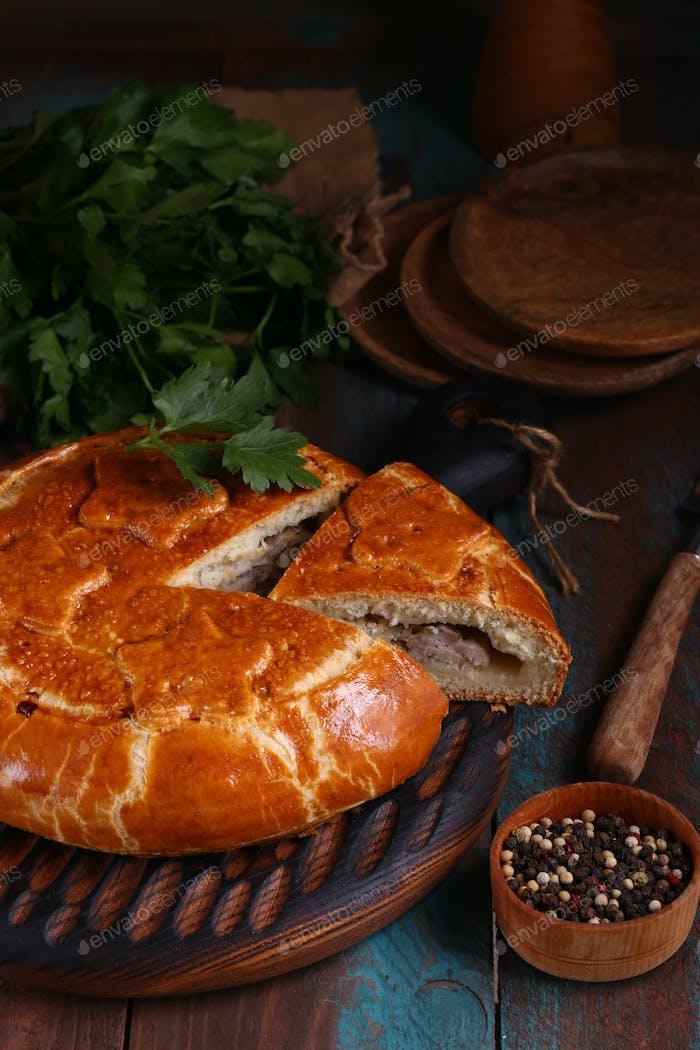 Homemade Meat Pie