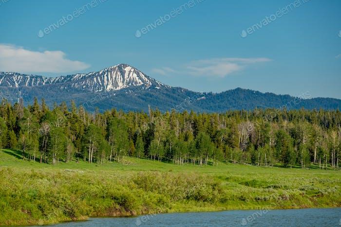 Berge in Grand Teton National Park