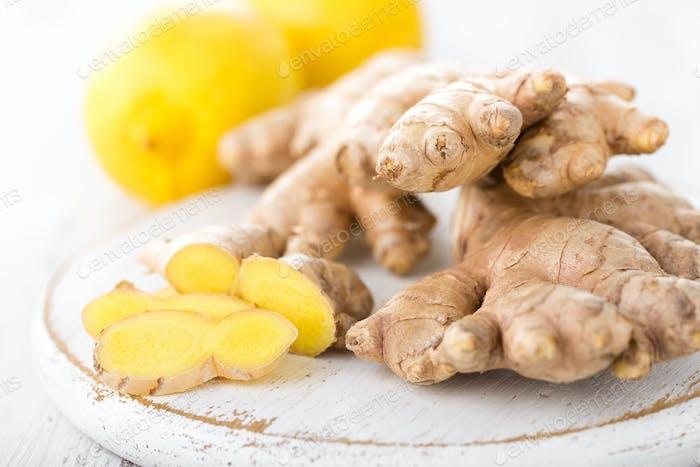 Ginger and lemons