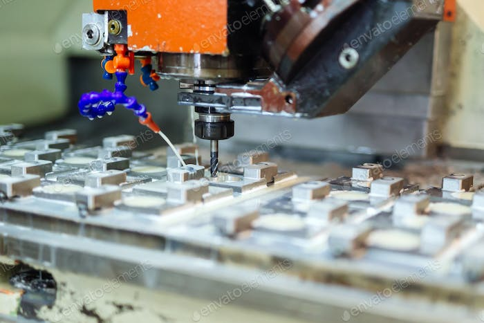 Automated drilling machines