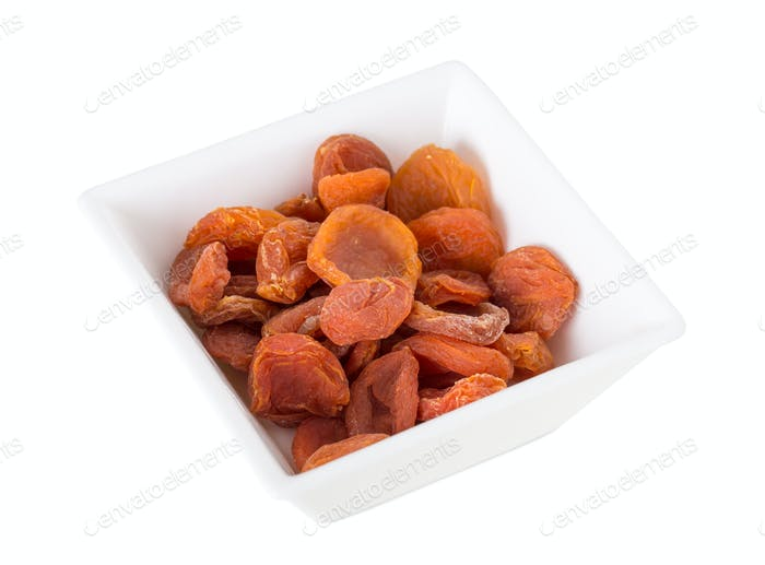 Dried apricot.