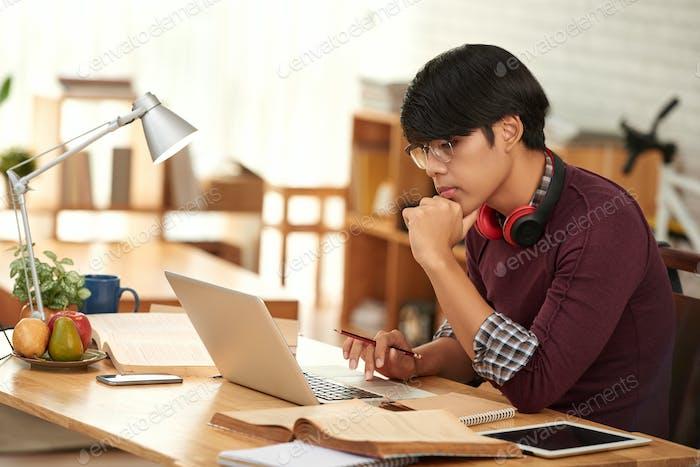 Vorbereitung auf die Prüfung