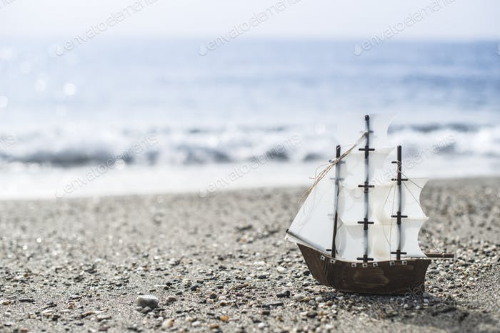 Thumbnail for Model sailing ship