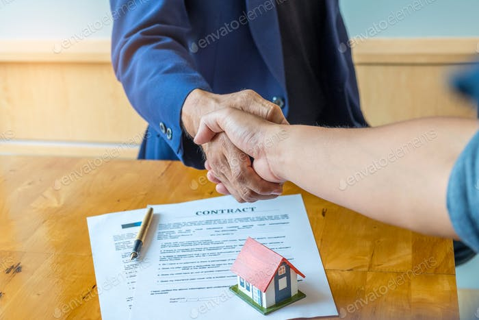 Shake hands for home trading. Between brokers and clients.