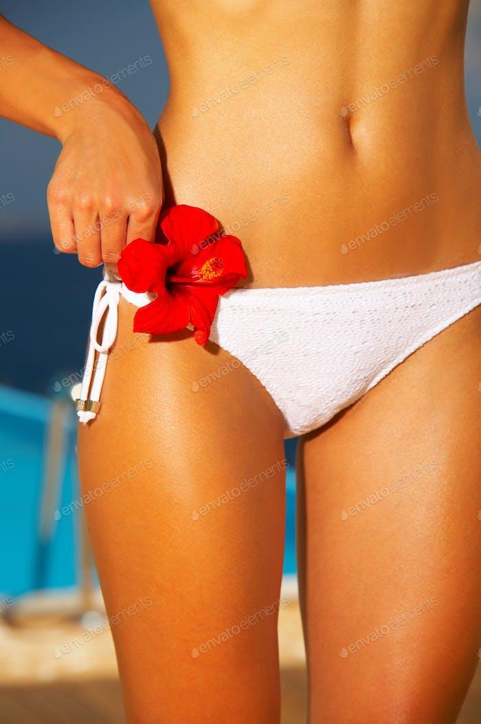 Bikini in Aktion