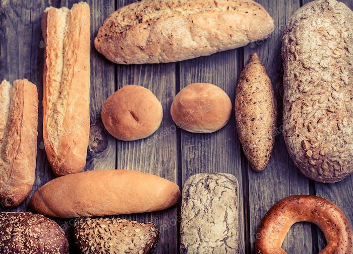 pan fresco diverso