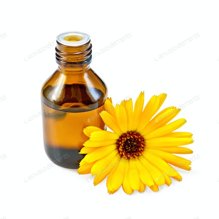 Oil with calendula