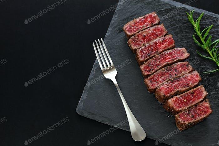 Wagyu beef steak, Japanese food