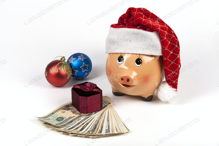 Piggy Bank and Gifts