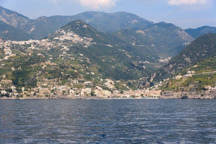Minori village on Amafli coast