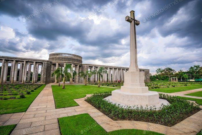 Cemetery in Myanmar