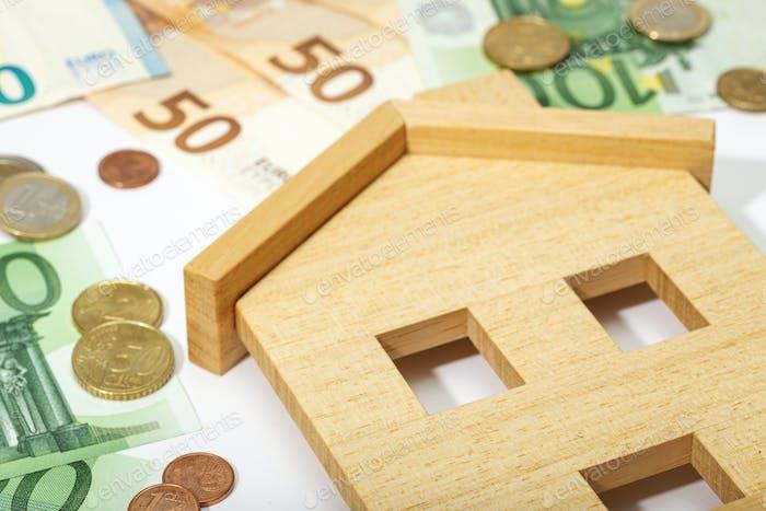 Kaufen, verkaufen oder mieten Sie ein Hauskonzept