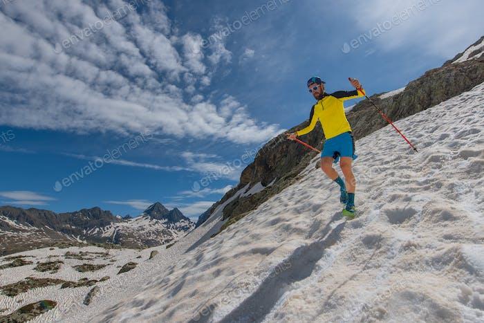 Skyrunner Mannlauf bergab