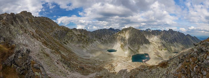 Photo of Vysne Wahlenbergovo pleso lake in High Tatra Mountains, Slovakia, Europe
