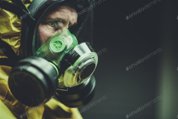 Chemical Lab Mask Worker