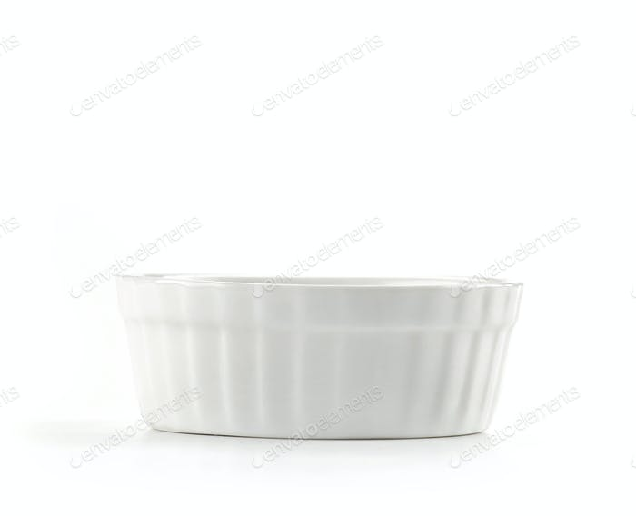 small empty bowl