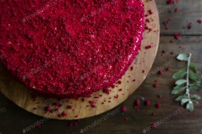 Red Samt Kuchen Essen Fotografie Rezept Idee