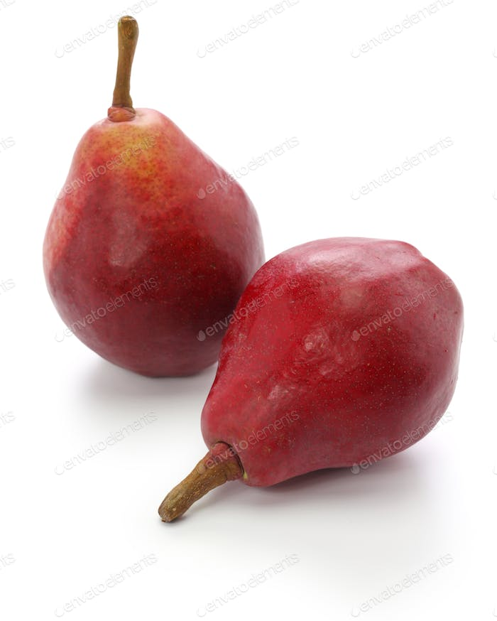 red pears, star crimson