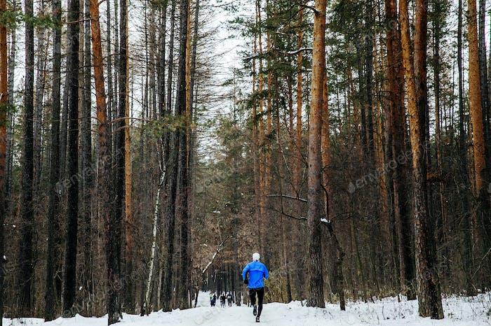 Athlete Runner Running