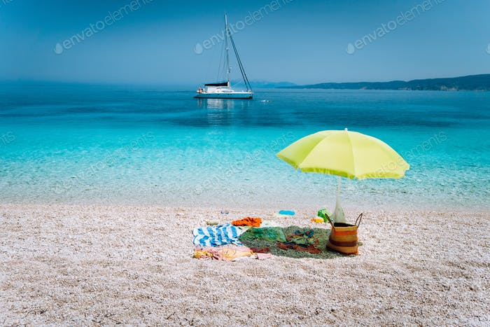 Family summer vacation trip recreation retreat concept. Enjoying and relaxing time get away