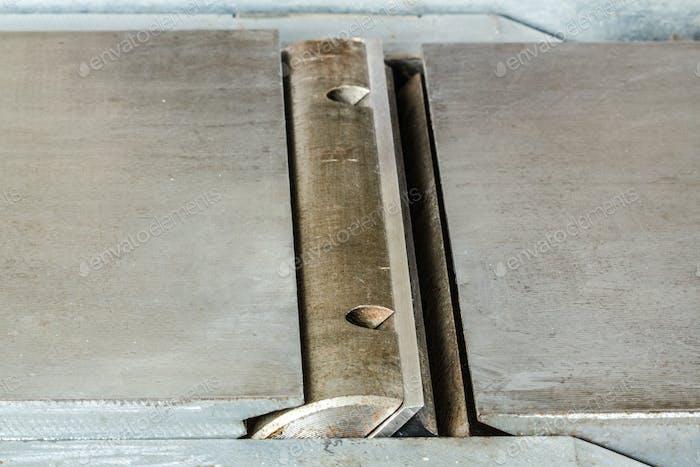 Schaft mit scharfen Messern der Holzbearbeitung Jointer