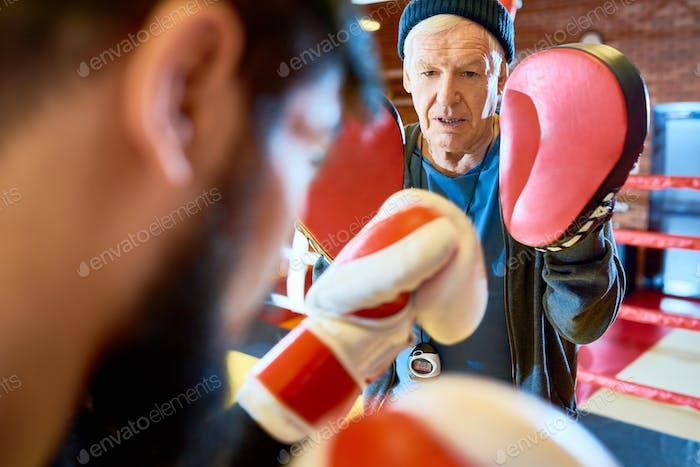 Senior Coach Training Boxer
