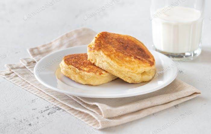 Ricotta Pfannkuchen