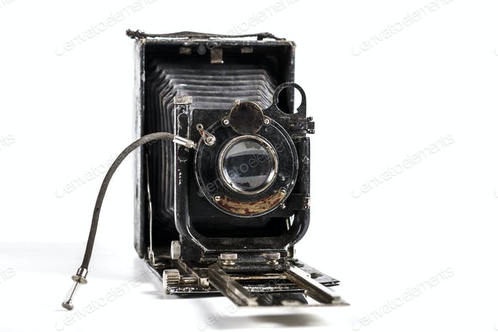 Camera Isolated o  White