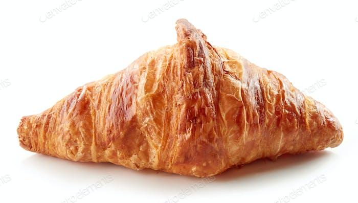 freshly baked croissant