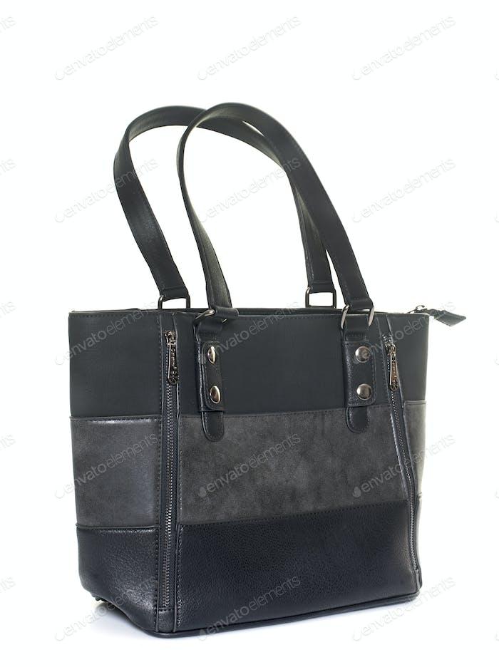 handbag in studio