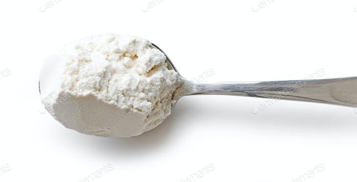 Löffel Mehl