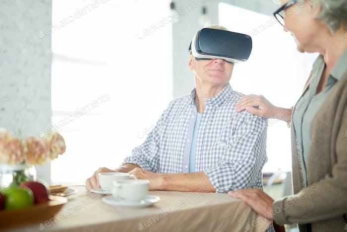 Frühstück in der virtuellen Realität