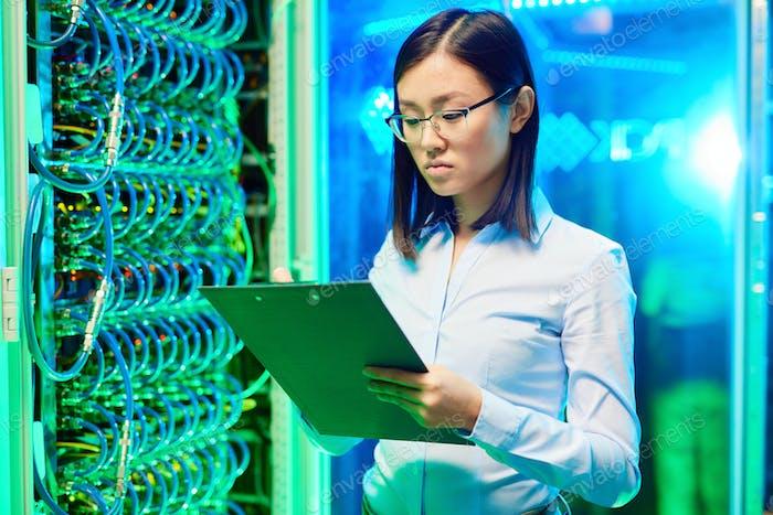 Trabajar en el centro de datos