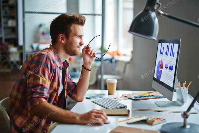 Diseñador en Trabajo