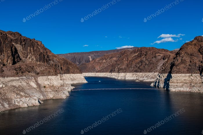 Colorado River vor dem Hoover Dam, USA