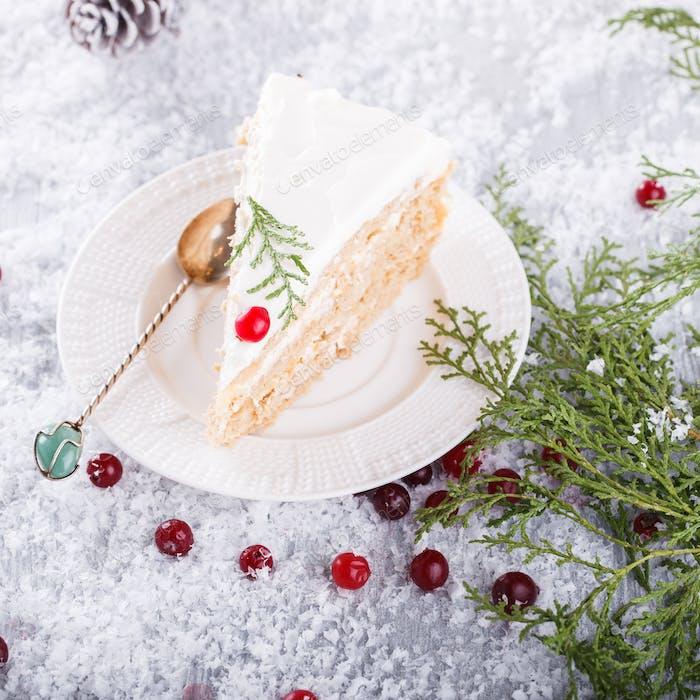 Christmas Baking Cake.