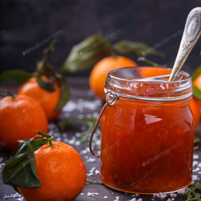 Tangerine jam